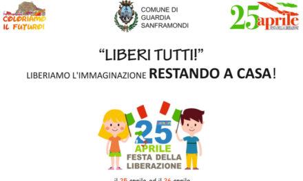 Guardia Sanframondi, in occasione del 25 aprile il Comune lancia l'iniziativa 'Liberi Tutti'