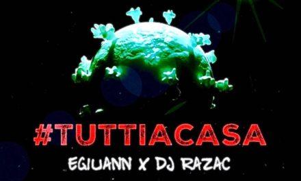 Egiuann & Dj Razac: 'Tutti a casa', il brano hip hop made in Sannio