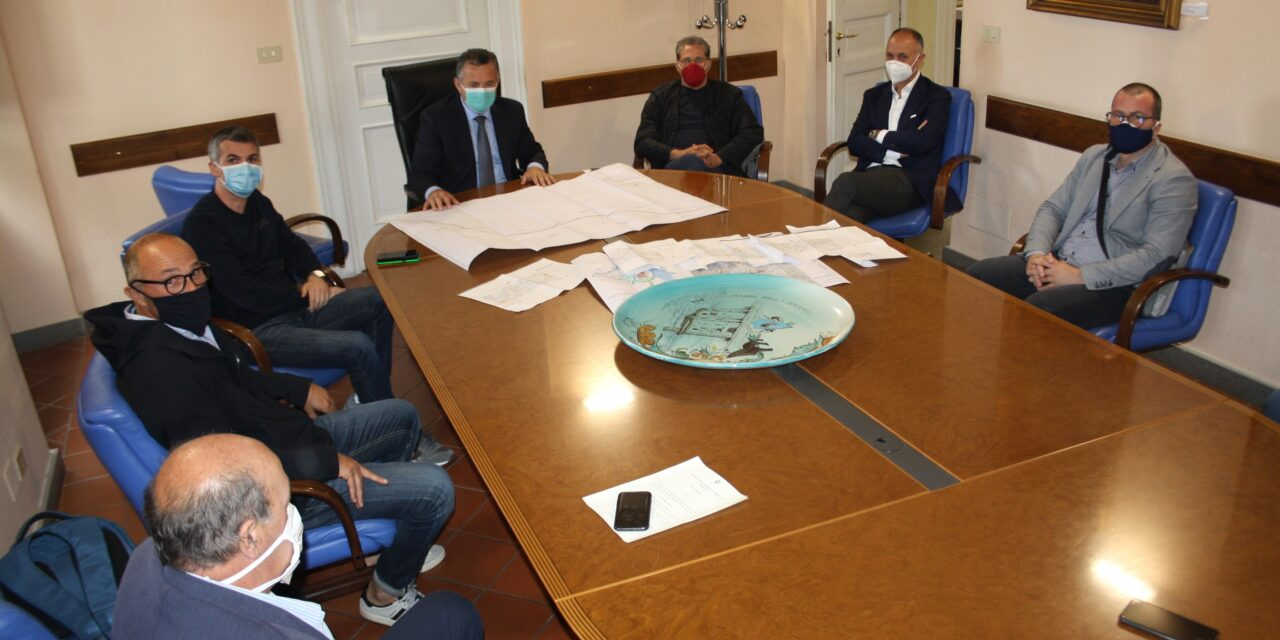 Completamento lavori ristrutturazione SS 90 bis, il presidente Di Maria ha incontrato i sindaci