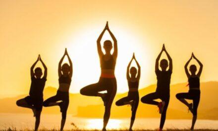 Puglianello, riparte oggi l'iniziativa 'Yoga in Villa'