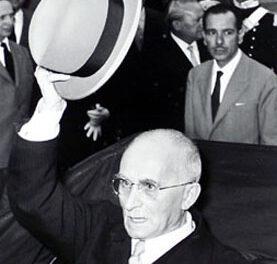 Di Maria ricorda la visita, 70 anni fa, del presidente della Repubblica Einaudi