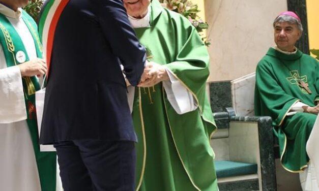 Puglianello, celebrati i 60anni di sacerdozio di monsignor Rubano