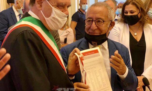 """Cittadinanza onoraria Vigorito, Di Maria: """"atto doveroso"""""""
