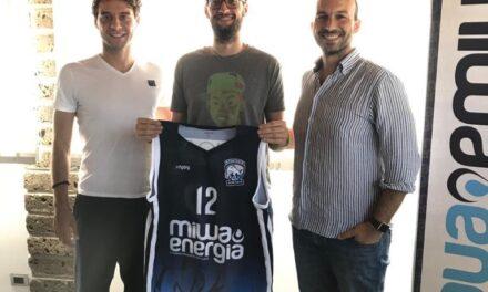MIWA ENERGIA BASKET, PAROLA AL NUOVO ACQUISTO ANDREA IANNICELLI
