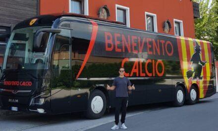 Benevento, ecco il nuovo pullman: si passa a un accattivante nero