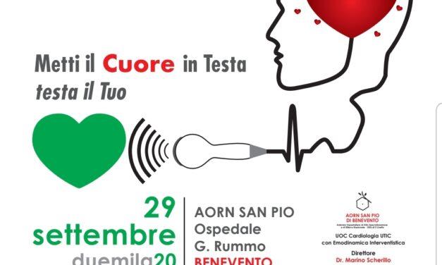 29 settembre Giornata Mondiale del Cuore, al San Pio ecocardiogrammi gratuiti