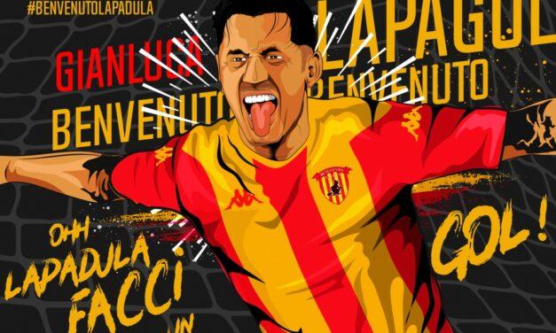 Benevento, ufficiale Lapadula: contratto triennale per l'attaccante