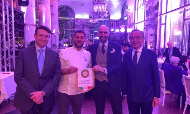 Puglianello, lo chef Mongillo premiato a Mosca dall'Accademia Italiana della cucina