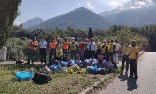 Difesa dei territorio: Puliamo il Mondo al ponte Maria Cristina di Solopaca