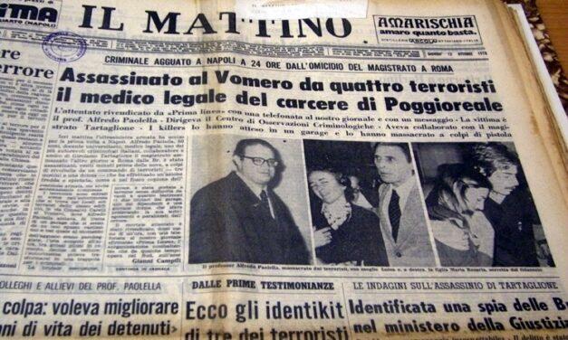 Il presidente De Maria ricorda il professor Alfredo Paolella