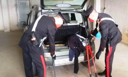 Banda di rapinatori braccata dai carabinieri