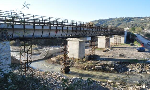 Ponte sull'Ufita, riapertura prevista entro dicembre