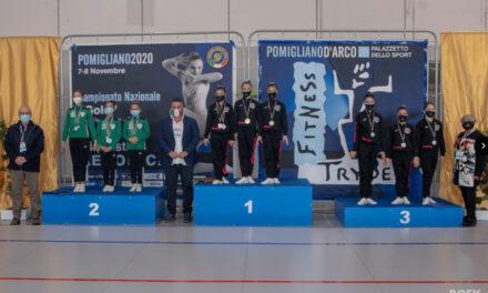Ginnastica aerobica, 'C.G. Benevento' sul podio nazionale. Due argenti per gli atleti di Cristiana D'Anna