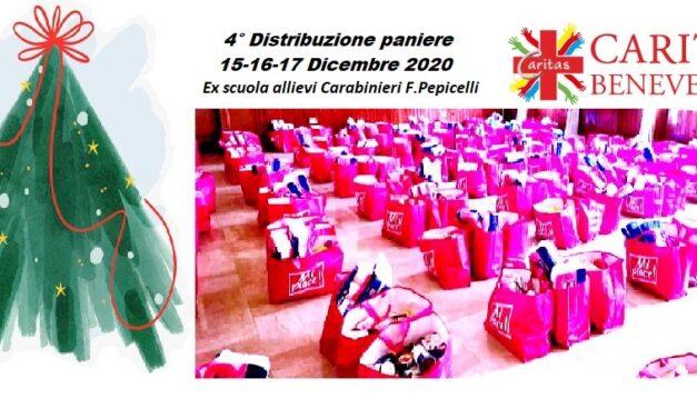 Dal 15 dicembre, alla ex caserma Pepicelli di Benevento, distribuzione del paniere alimentare emergenza Covid