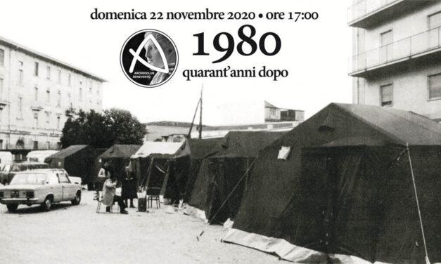 Archeoclub: domenica meeting sulla piattaforma Webex per ricordare il terremoto dell'80