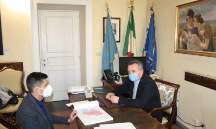 Di Maria al sindaco di Castelpoto: uniti per la costruenda strada nella fondovalle vitulanese