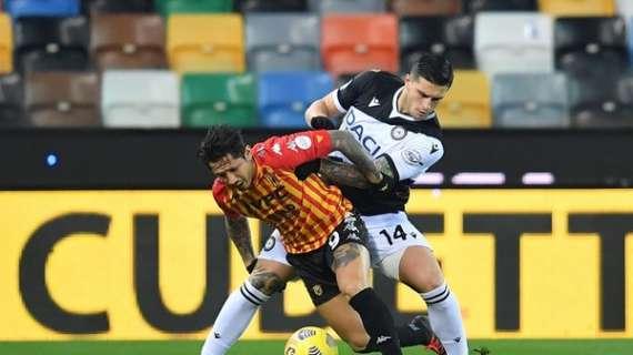 Benevento, due club di serie A su Lapadula