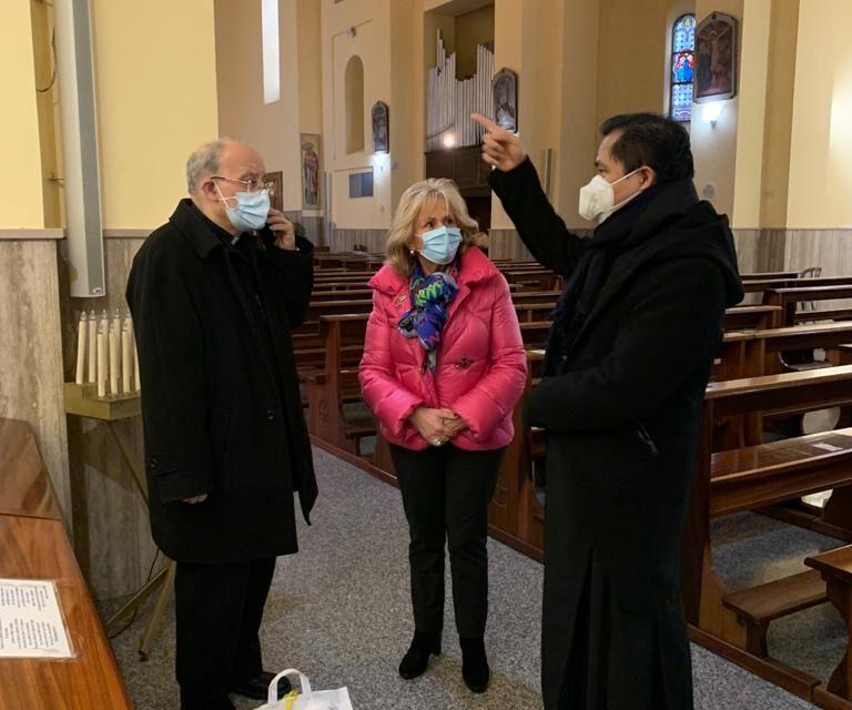 Fatebenefratelli, Donati pacchi alimentari a famiglie bisognose del rione Ferrovia di Benevento