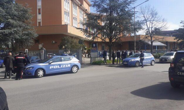 Manutenzione strade provinciali, in mattinata la protesta dei lavoratori