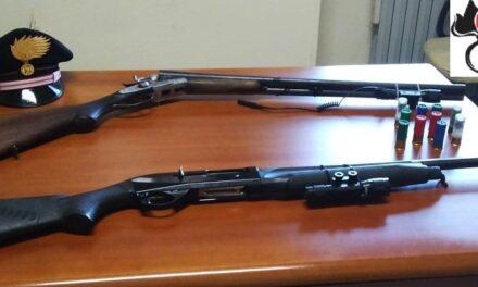 Dugenta, arresti e denunce per possesso di fucili