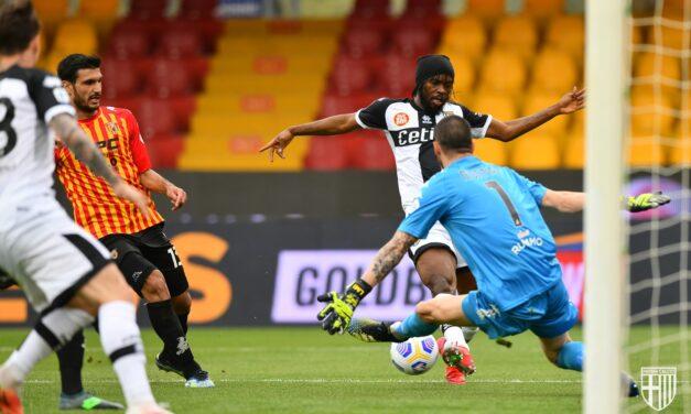 Benevento, contro il Parma un altro mattoncino per la salvezza