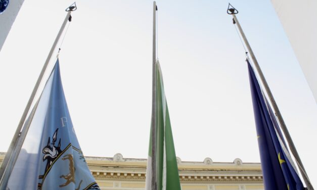 Provincia, bandiere a mezz'asta per la prematura scomparsa di Claudio Ricci