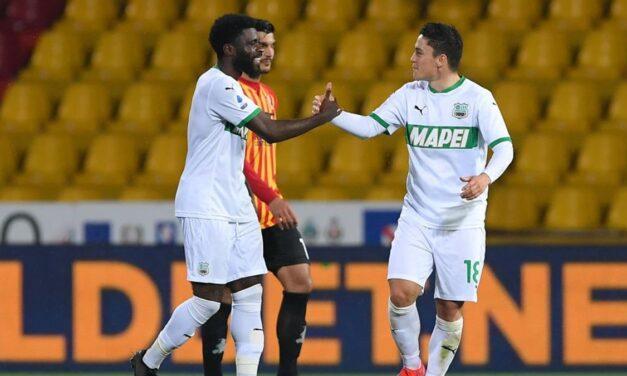 Benevento, il finale non basta: un autogol di Barba dà 3 punti al Sassuolo