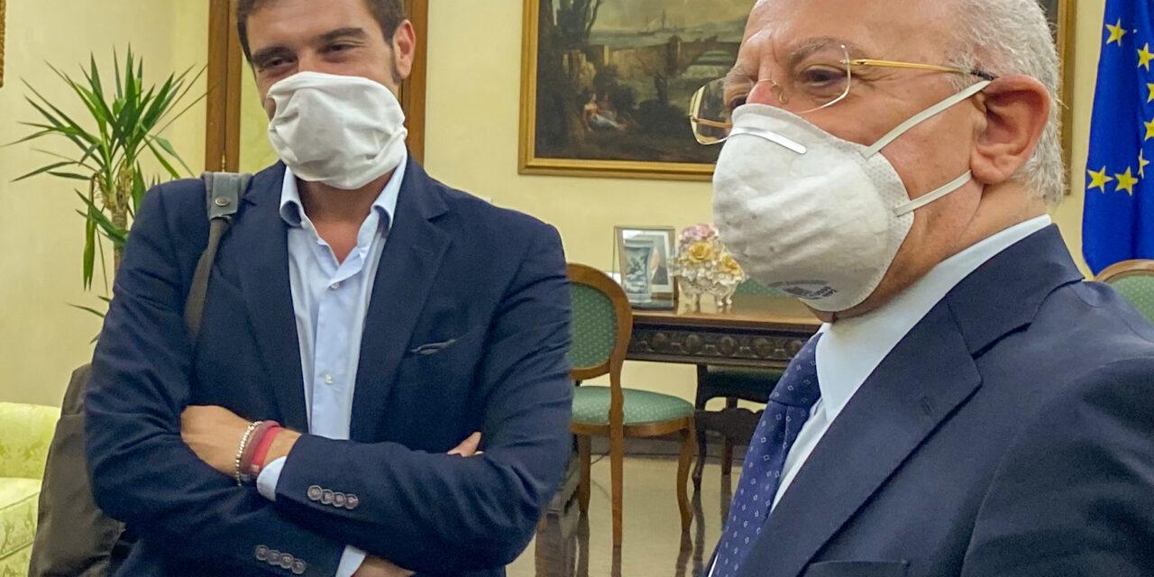 Il Sannio e la sua rinascita al centro dell'incontro Mortaruolo-De Luca