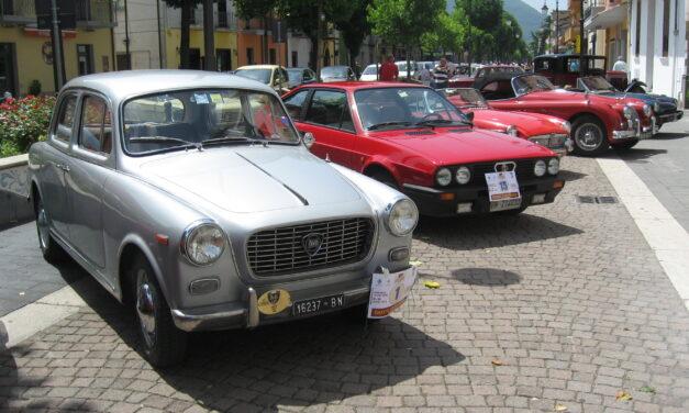 Passeggiata ecologica in auto d'epoca organizzata dal Club Ruote Storiche di Benevento