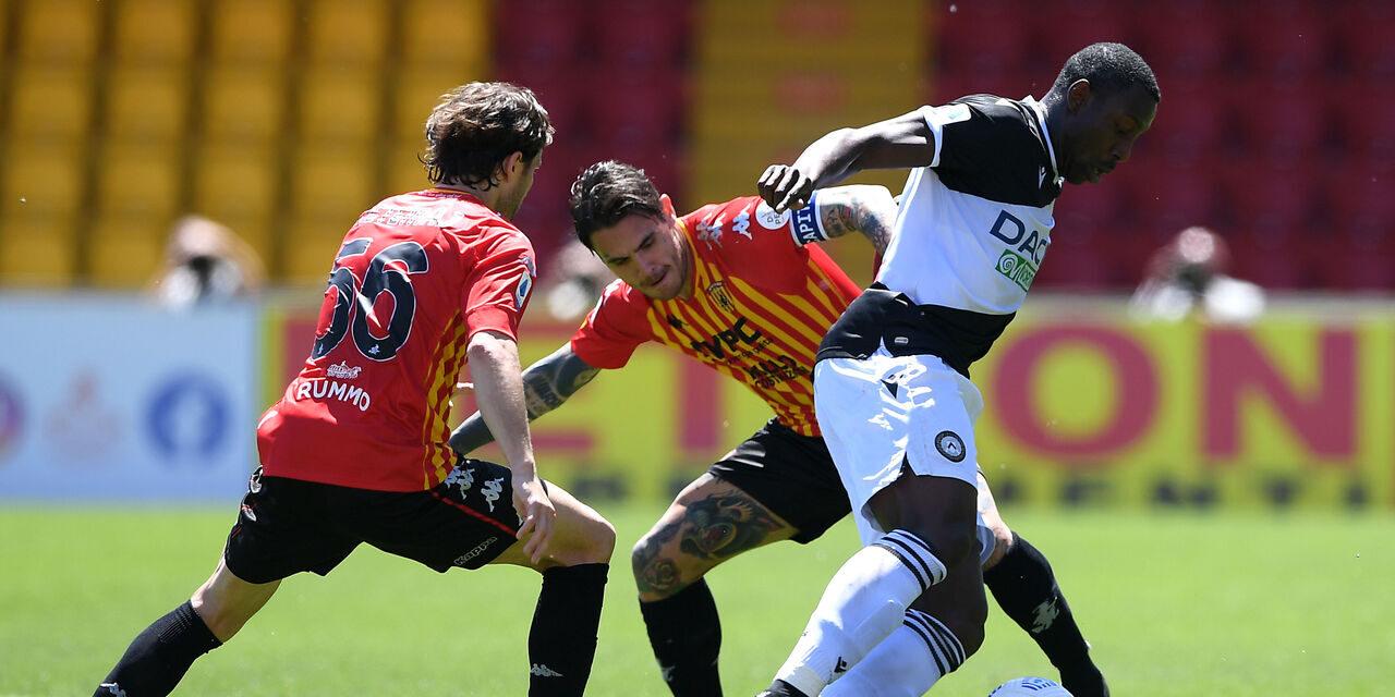 Benevento, è notte fonda: anche l'Udinese passa al Vigorito