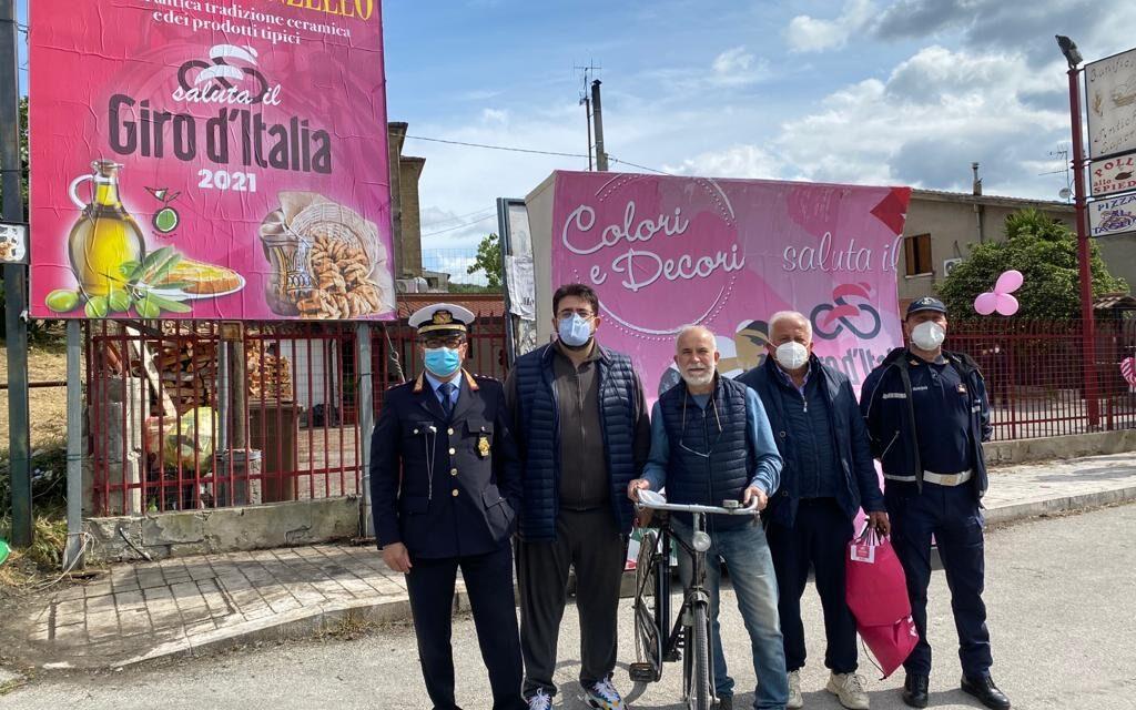 Il Giro d'Italia fa tappa a San Lorenzello che premia il primo arrivato