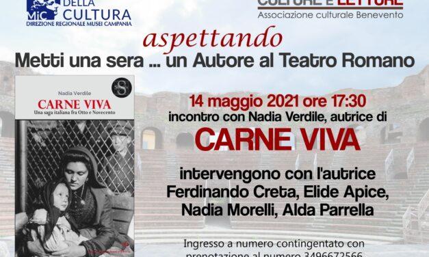 Al Teatro Romano di Benevento, domani, incontro con l'autrice Nadia Verdile