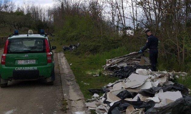 Continua la lotta dei Forestali allo riversamento illecito dei rifiuti