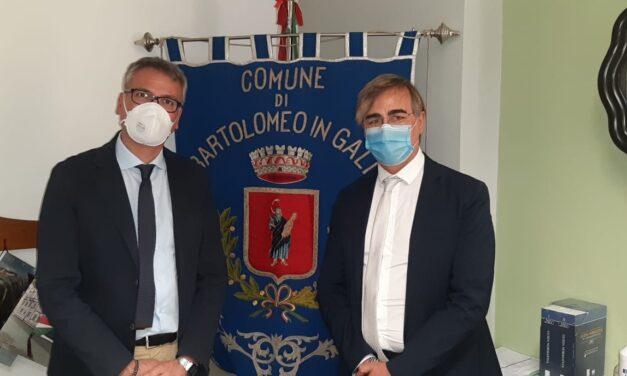 Il sindaco di San Bartolomeo in Galdo incontra il commissario della Fortorina