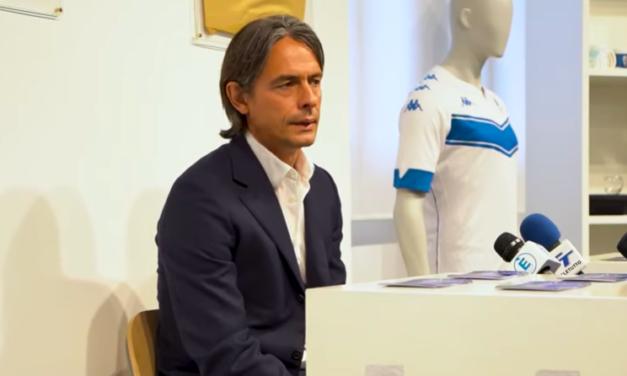 """Inzaghi si presenta a Brescia: """"Cellino ha creduto in me, non voglio deluderlo"""""""