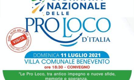 Giornata internazionale delle Pro Loco, Benevento riferimento del Sannio