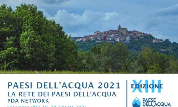 Al via domani, a Sassinoro, il festival dedicato all'acqua