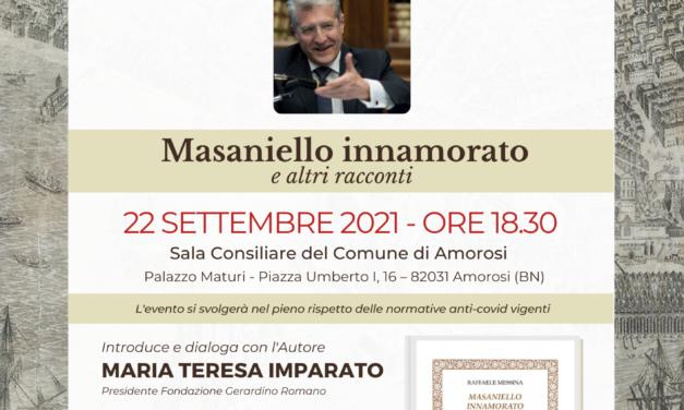 Mercoledì 22 settembre, ad Amorosi, conversazione con Raffaele Messina