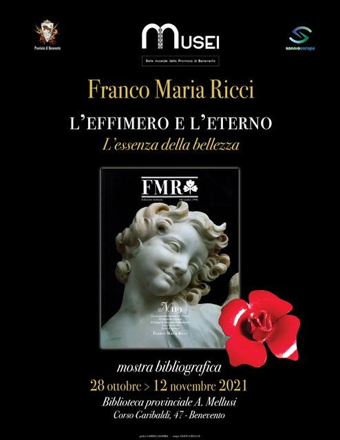L'effimero e l'eterno, alla Biblioteca di Benevento la mostra in memoria dell'ex presidente Ricci